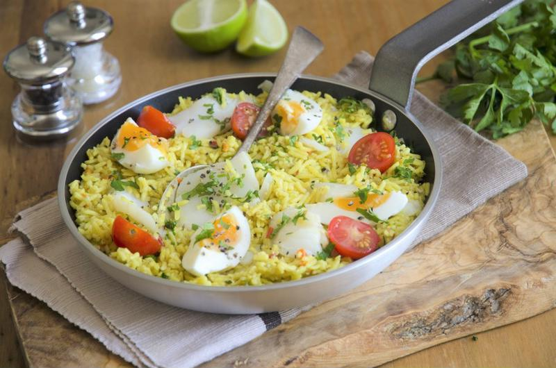 Take Sunday brunch to new heights with this kedgeree.
