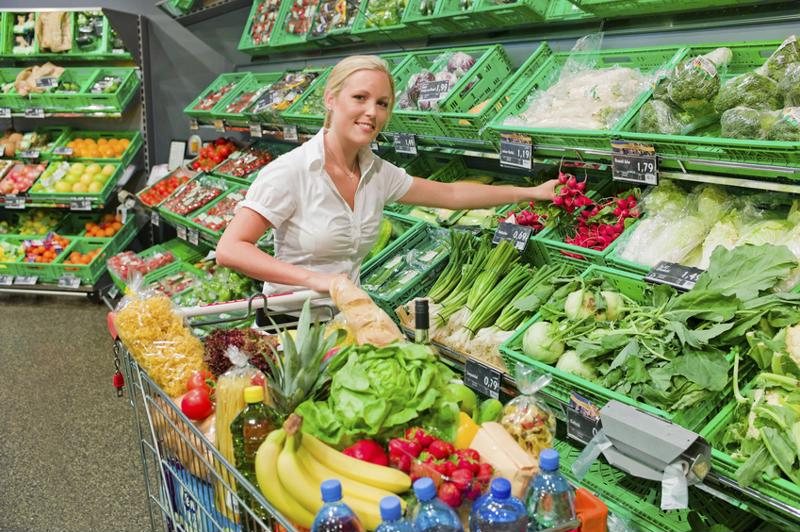 Buying in bulk could lead to healthier eating habits.