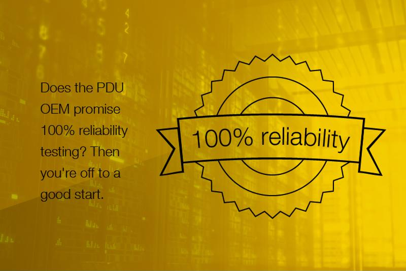 Choosing the right PDU is essential to avoiding downtime.