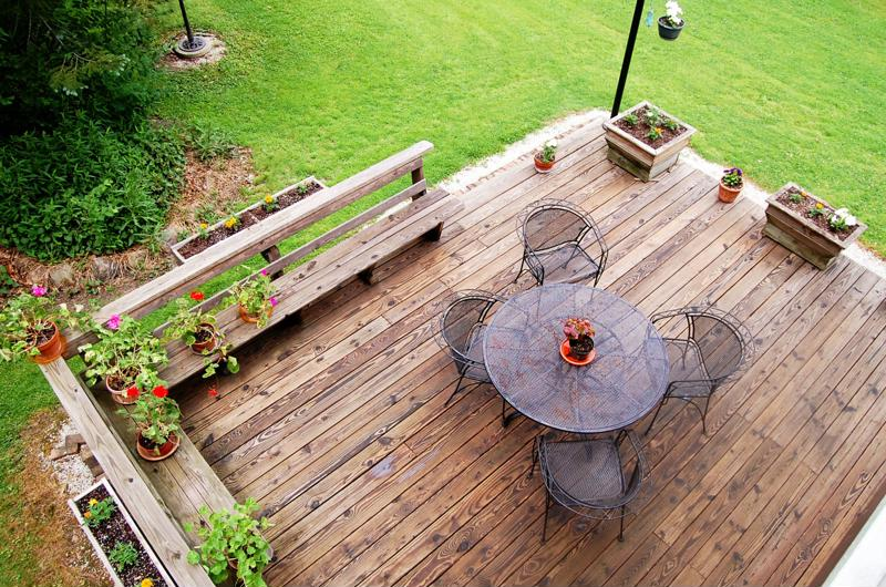 Springtime is often when a young man's fancy turns to a deck renovation.