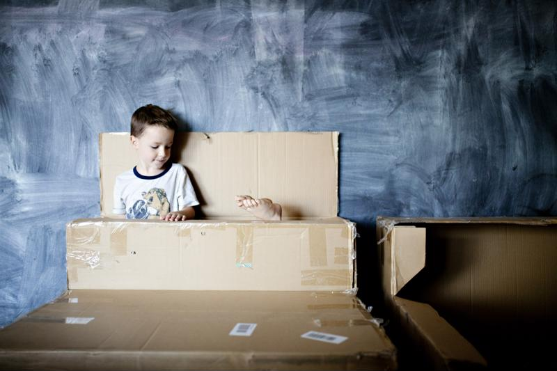 To you, it's a cardboard box. To your toddler, it's a rocket ship.