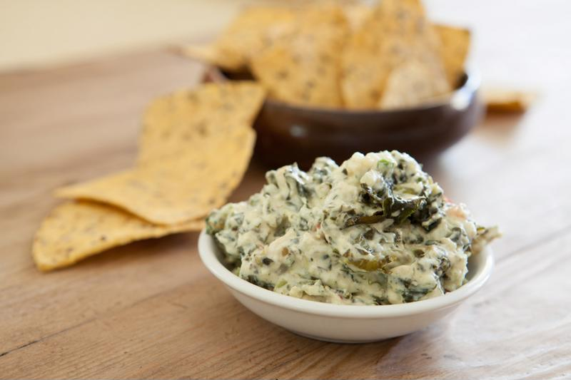 Spinach dip - very few ingredients but a whole lot of flavor.