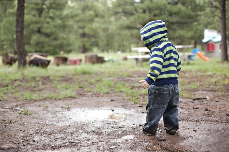 Mud play is a highly-beneficial experiential activity that can be facilitated right in your own backyard.