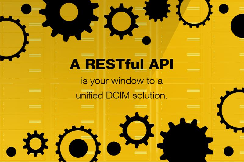 An open API should be viewed as a prerequisite to a strong DCIM solution.