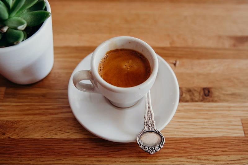 An engraved spoon along with gourmet coffee or tea will make her feel special.