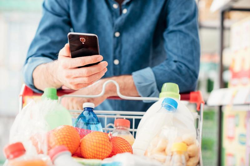 Take grocery shopping to the next level with your trust smartphone.