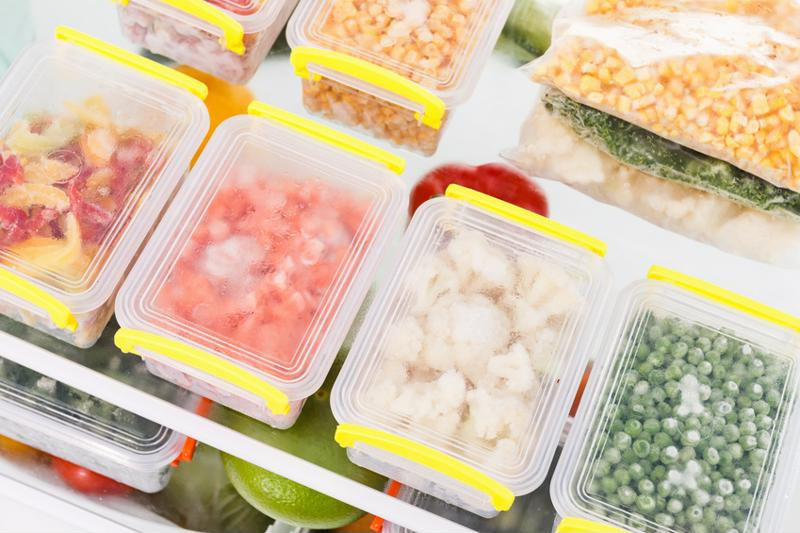 Freeze food to keep it fresh after buying it.
