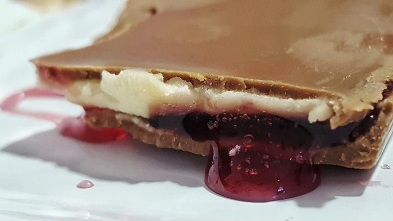 Raspberry and chocolate are great together in a variety of dessert.