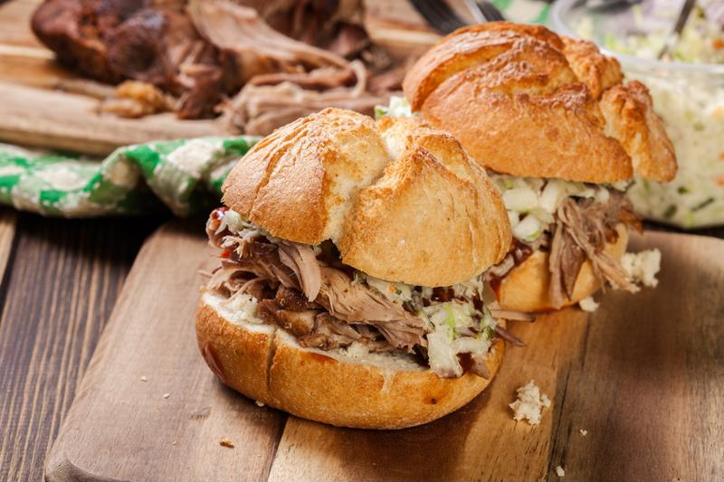 Pulled pork is popular as ever.