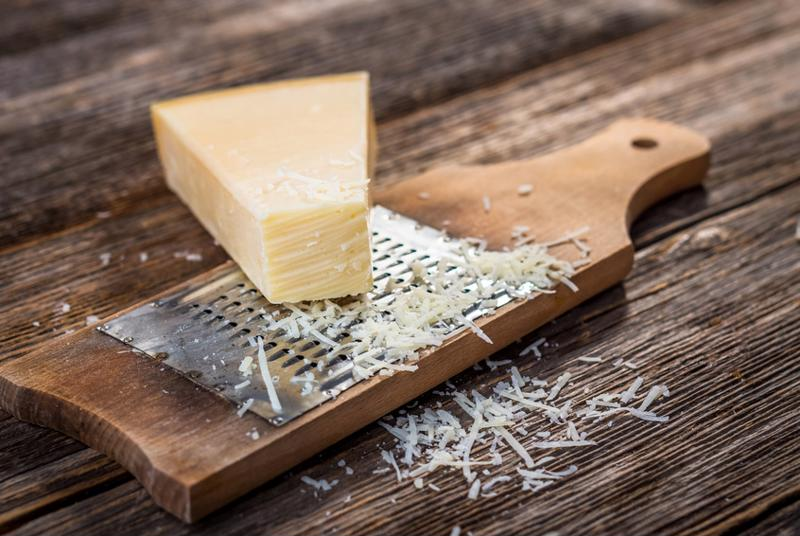 You can't have Italian cuisine without Parmigiano-Reggiano.
