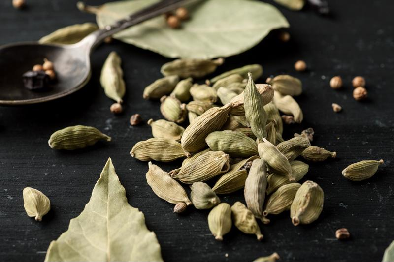Cardamom can be found in Indian and Middle Eastern dishes.