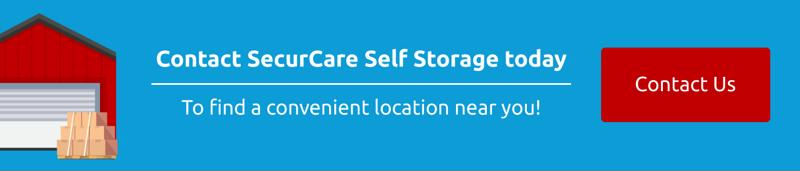 Contact SecurCare to find a storage unit near you.