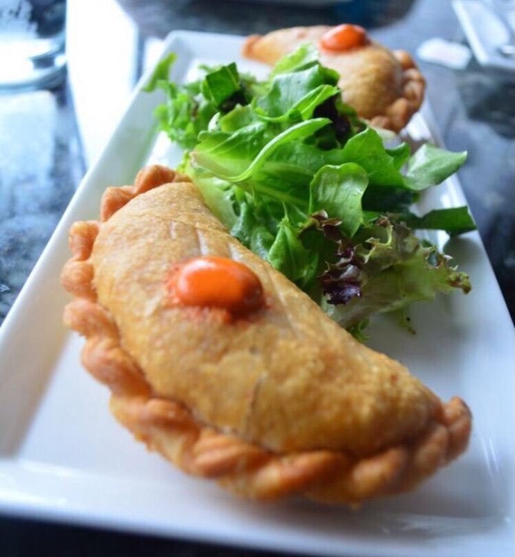 Empanadas can be desserts or full meals.