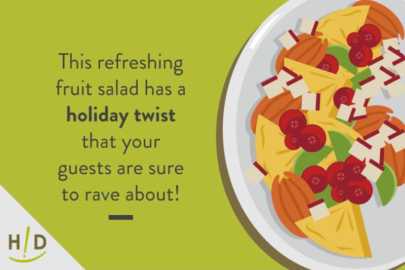 Try our refreshing salad this Thanksgiving!