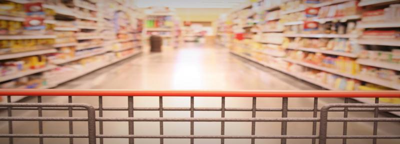 Items on an aisle tend to blur together. Effective shelf signage can help products stand out.