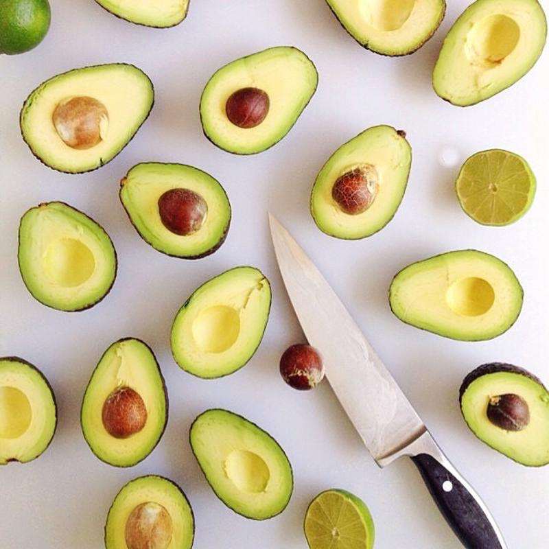 Avocados add the perfect creaminess to this salad.