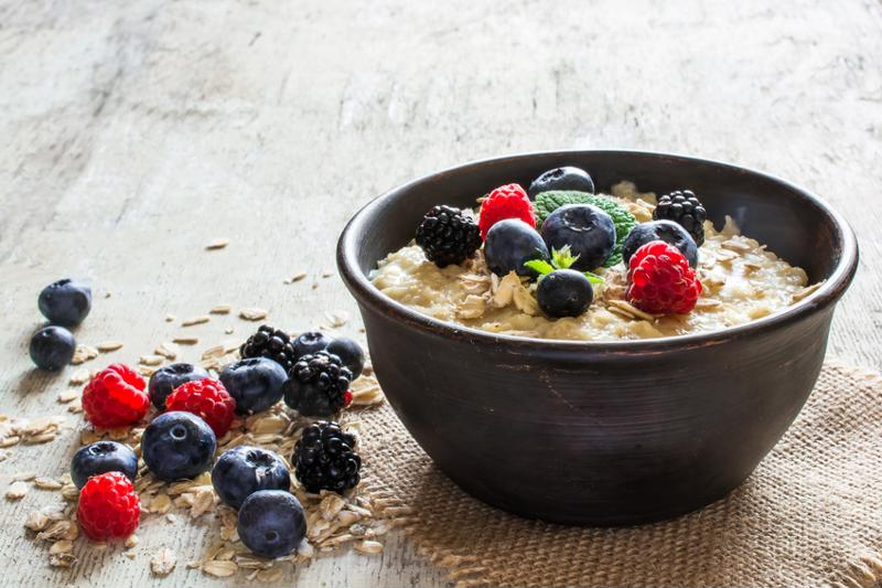 Overnight oats can be a fast and filling meal.