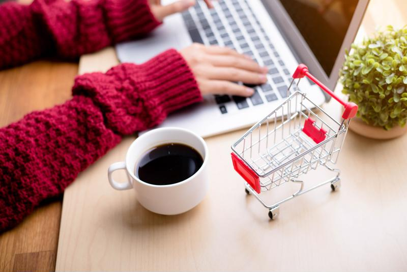 Make life more convenient by shopping online.