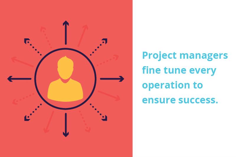 Project managers are crucial to the success of any operation.