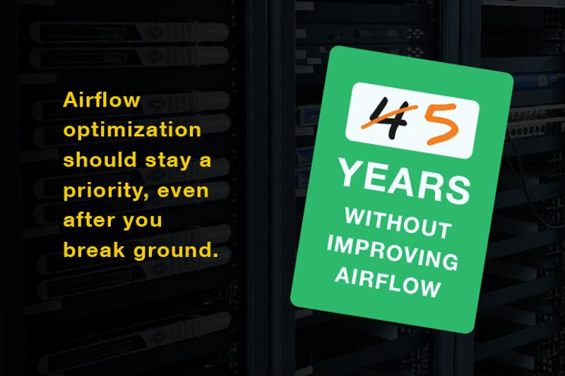 Out-of-date airflow optimization efforts are PUE liabilities.