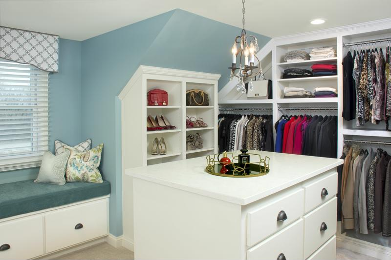 A new closet system can help ensure your space stays organized.