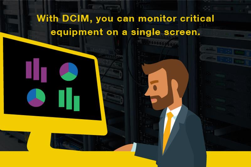 DCIM lets you do more with less.
