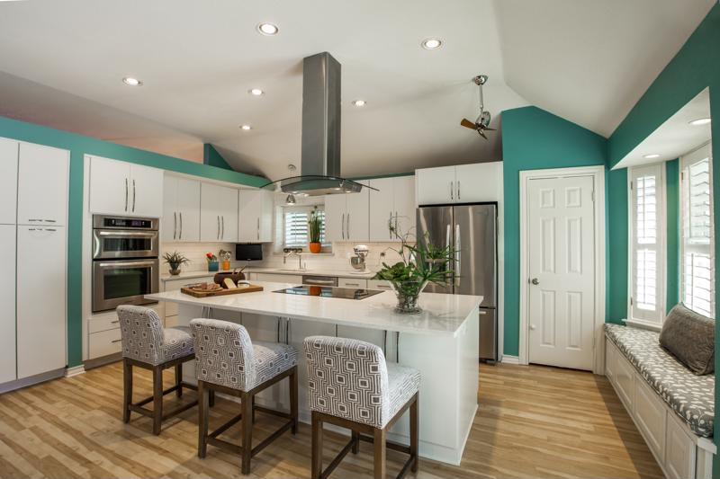 Consider spring color trends in your kitchen.