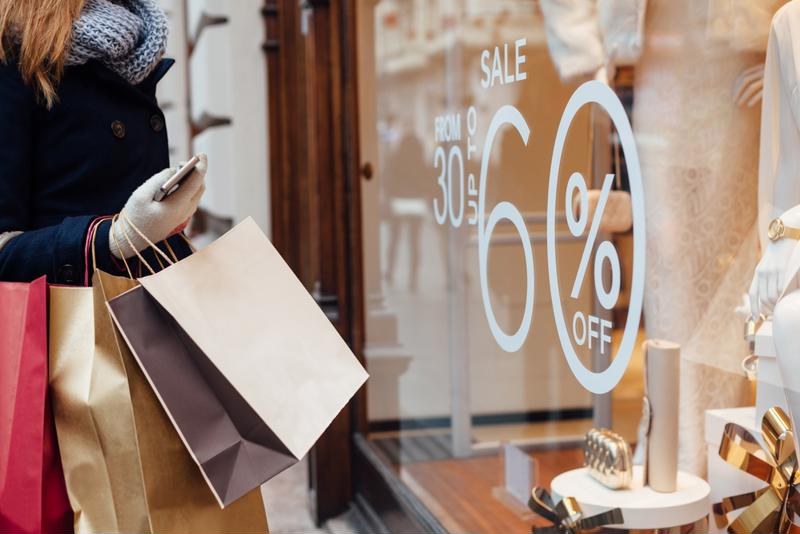 Decals can be applied to and removed from glass effortlessly, making them effective storefront signage.