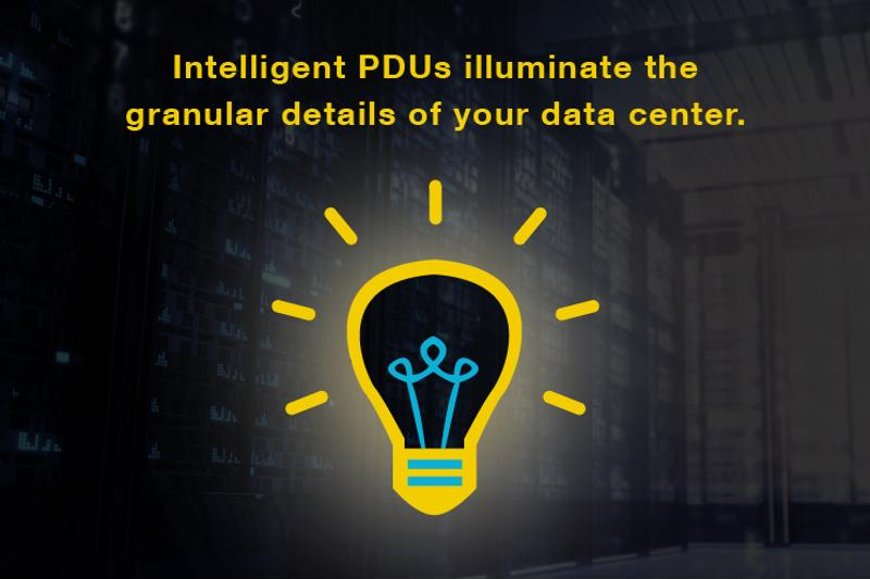 Simplify rack-level monitoring with PDU-based data center intelligence.