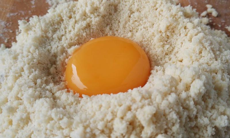 Egg yolk.