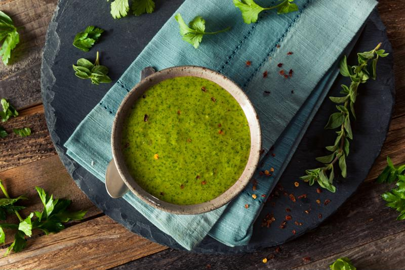 A green Italian rub