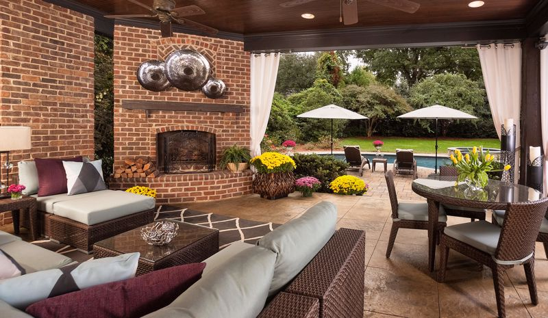 A personal decorator can help you design the ultimate patio space.