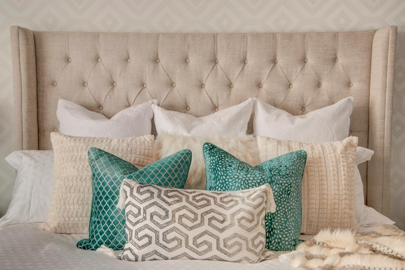 Choose a color scheme for your bedding that speaks to your personal style.