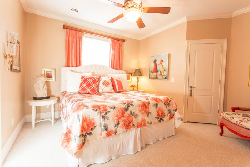 Incorporate Pantone's 2019 Color of the year, Living Coral into your design accents.