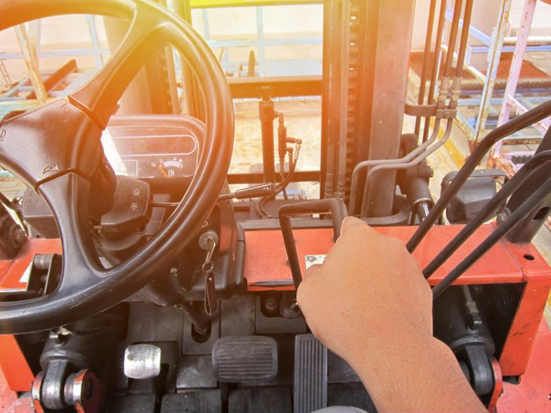 Forklift safety accessories like sensors can reduce forklift accidents.