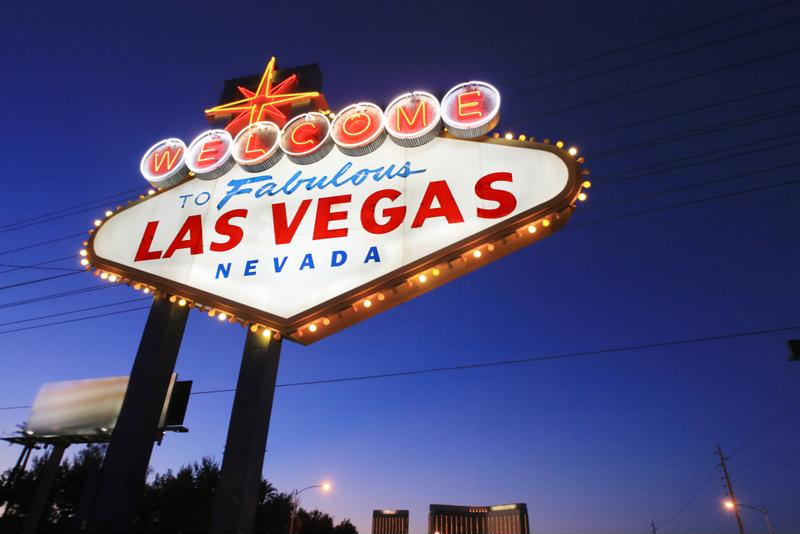 Famous Welcome to Las Vegas sign.