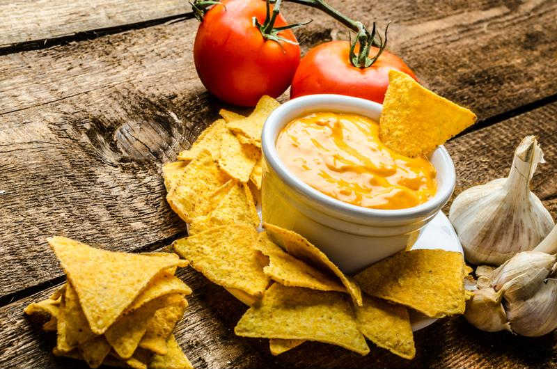 Process cheese is also the main ingredient in many cheese-dip products.