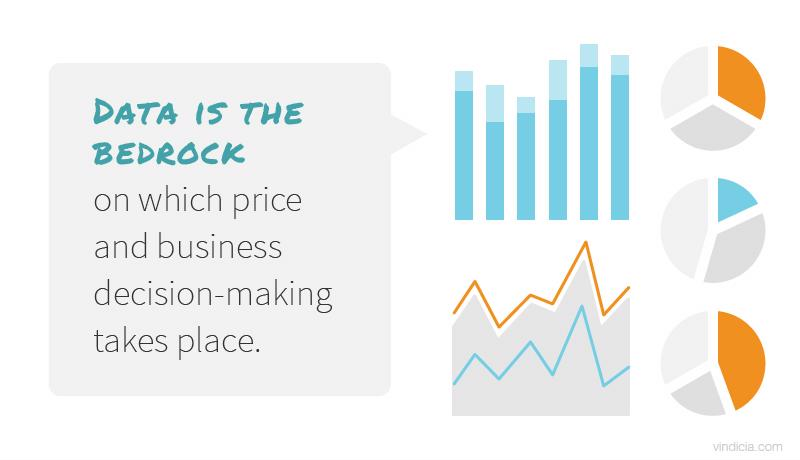 Data is the bedrock on which price and business decision-making takes place