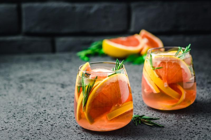 Grapefruit and thyme are perfect examples of ingredients that add complexity to mocktails.