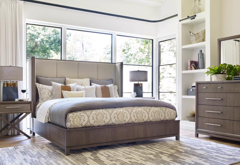Your decorative shelving can give your bedroom personality.