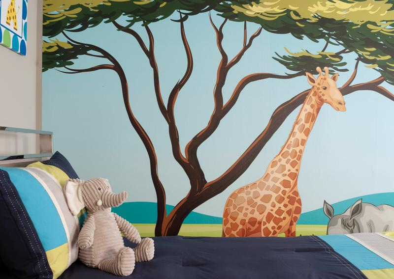 Choose a theme for the toddler room.