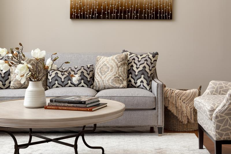Take advantage of different shapes and textures in design.