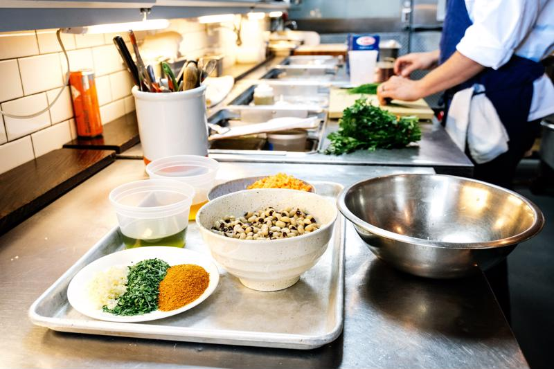 Every kitchen is a little different, but most have designated stations and a line cook assigned to each.