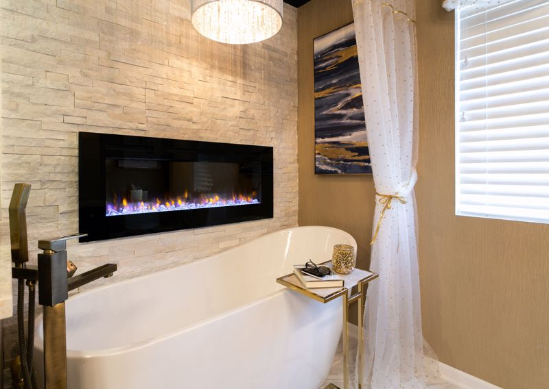 You can still revamp a small bathroom.