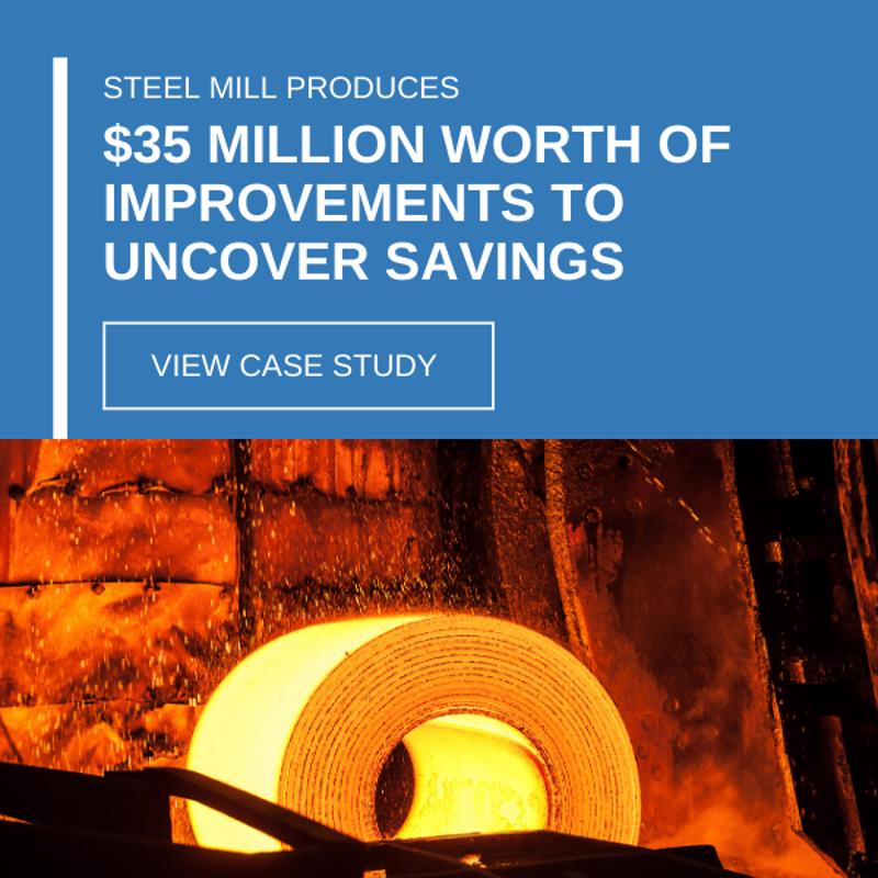 Steel mill produces $35 million worth of improvements to uncover savings