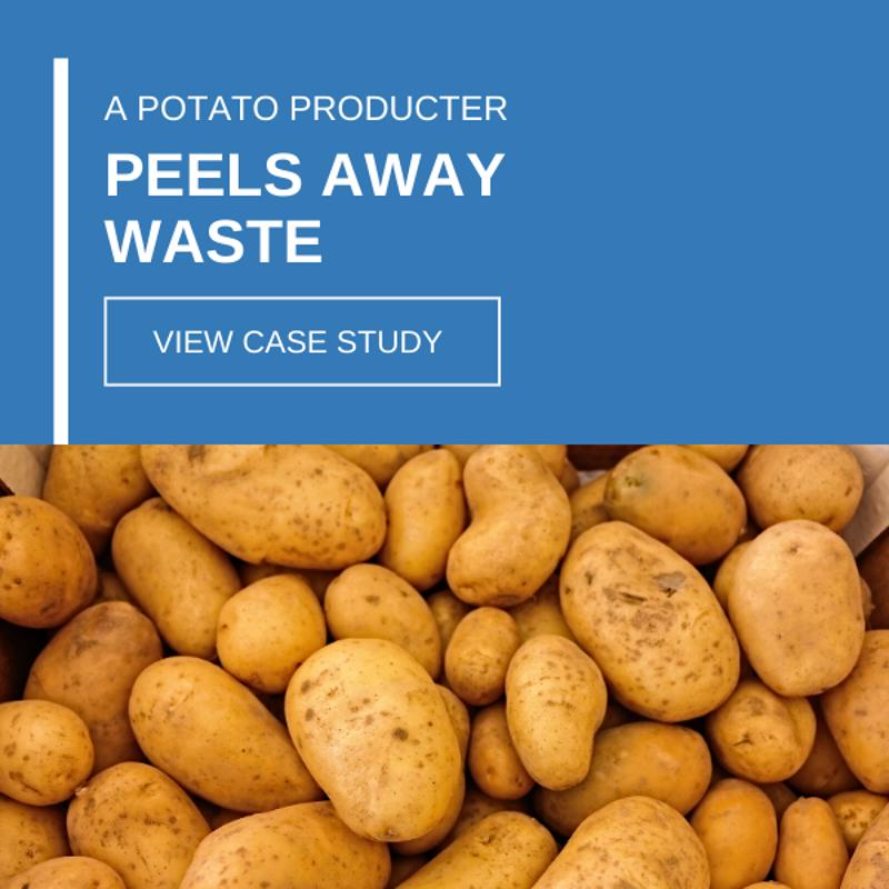 A potato producer peels away waste case study