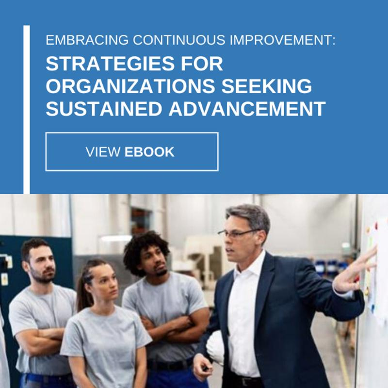 Embracing Continuous Improvement: Strategies for Organizations Seeking Sustained Advancement eBook