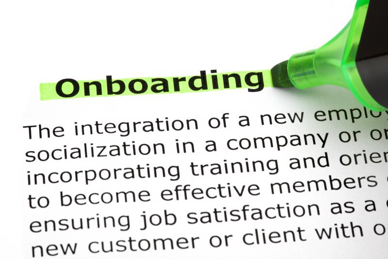 Here's how to get the most of the onboarding process.