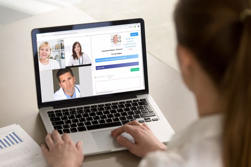 Telehealth makes it easier for physicians to safely connect with rural patients.