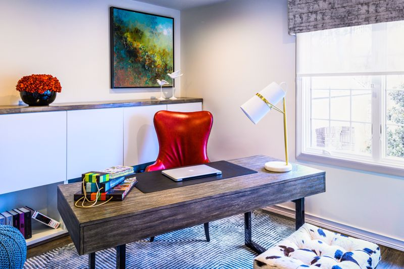 Create a space that is dedicated to your work.